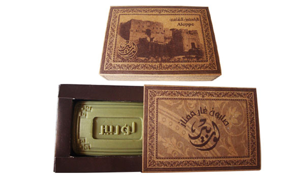 2- Fragrances laurel Aleppo Soap: Lorbeer Small Flawers( 209)