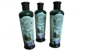 5-(Bio /Herbal Shampoo) Aleppo Liquid Laurel Soap :  Lorbeer Shampoo for Brittle Hair 300 ml (508)
