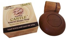 4 Olive oil soap with other oils (bio / organic): Castle with Clay (425)