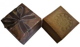 1- Traditional Aleppo Laurel Soap: Traditional Crown Wings Lorbeer 175 (105)