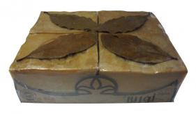 1- Traditional Aleppo Laurel Soap: Good Old mind 4 pieces (156)