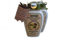 5 - (Bio/Herbal Shampoo)Aleppo Lorbeer flussig seife : Blooms Shampoo fettiges Haar 400 ml (514)