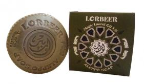 1- Traditional Aleppo Laurel Soap: Lorbeer Aleppo Soap 5 percent laurel (115)