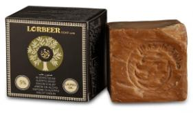 1- Traditional Aleppo Laurel Soap: LORBEER Aleppo Soap 5% Laurel Oil (105) B