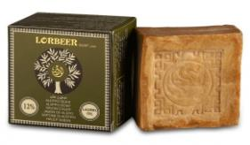 1- Traditional Aleppo Laurel Soap: LORBEER Aleppo Soap 12% Laurel Oil (106) B