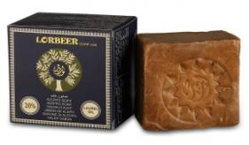 1- Traditional Aleppo Laurel Soap: LORBEER Aleppo Soap 20% Laurel Oil (107) B