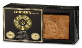 1- Traditional Aleppo Laurel Soap: LORBEER Aleppo Soap 30% Laurel Oil (108) B