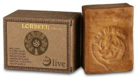 1- Traditional Aleppo Laurel Soap: Traditional LORBEER Aleppo soap (102) B